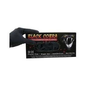 Cobra Black Gloves
