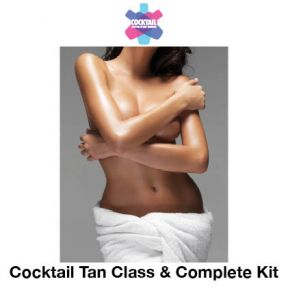 Spray Tanning With Complete Kit